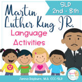 Martin Luther King Jr. Activities for Speech and Language