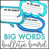 Martin Luther King Jr. Activity | Big Words Bulletin Board Kit