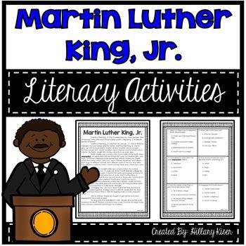 Martin Luther King, Jr. Activity Bundle