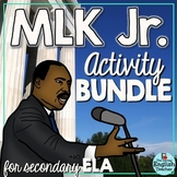 Martin Luther King Day Activity Bundle for Secondary Students