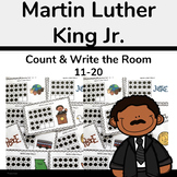 Martin Luther King Jr Activity-Count & Write the Room 11-20
