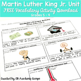 Martin Luther King Jr. Activity Middle School FREEBIE