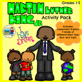Martin Luther King Jr Activities (Differentiated)