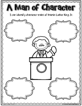 Martin Luther King Jr. Activty and Printables Bundle