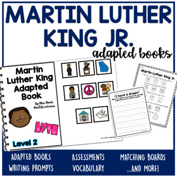Martin Luther King Jr. Adapted Books