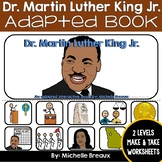 Martin Luther King Jr. Adapted Interactive B}ok {Autism, Special Education{