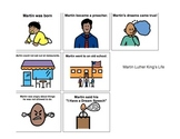 Martin Luther King, Jr. Adaptive Book + Comprehension Acitivties autism-lang tx
