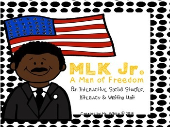 Martin Luther King Jr. {An Interactive Literacy, Writing, & Craftivity Unit}