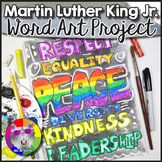 Martin Luther King Art Project, Word Art