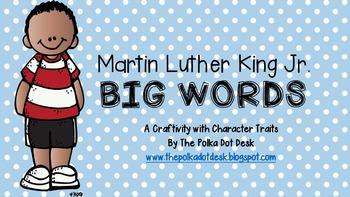 Martin Luther King Jr. BIG WORDS
