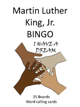 Martin Luther King Jr. BINGO!