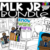 Martin Luther King Jr. BUNDLE Mini-Book Printables Mini-Posters Directed Drawing