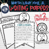 Martin Luther King Jr Banner Writing Prompt Banners & Toppers