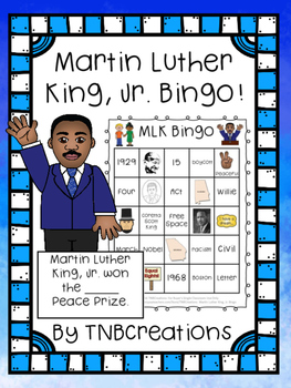Martin Luther King, Jr. Bingo