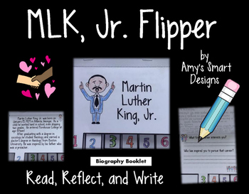 Martin Luther King, Jr. Biographical Flipper