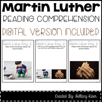 Leveled Text V: Martin Luther King, Jr.