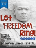 Martin Luther King Guided Reading K 1 2 3 4 5 Leveled Read