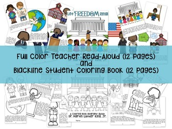 Martin Luther King Grades 1-2 Leveled Reader and Activities