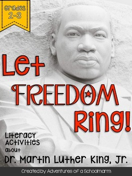 Martin Luther King Grades 2-3 Leveled Reader and Activities