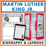 Martin Luther King Jr. Biography Lapbook