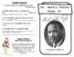 Martin Luther King, Jr. (MLK) Biography Minibook and Activities