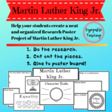 Martin Luther King Jr. Biography Research Poster Kits