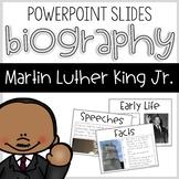 Martin Luther King Biography Slides