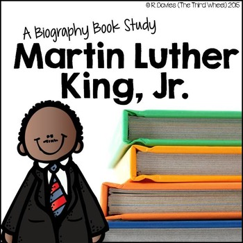 Martin Luther King Jr. Foldable Biography Unit