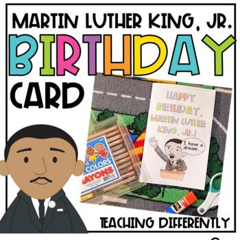 Martin Luther King Jr. Birthday Card