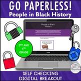 Martin Luther King Jr Black History Digital Breakout