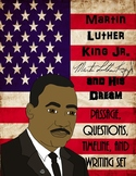 Martin Luther King Jr. Black History I Have a Dream Passag