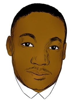 martin luther king jr black history month clip art by learning