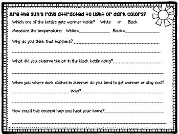 Martin Luther King Jr. Black and White Science and STEM Activities
