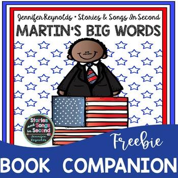 Martin Luther King Book Companion-Martin's Big Words{FREEBIE}