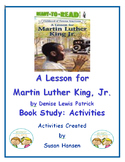 Martin Luther King Jr. Book Study: Activities