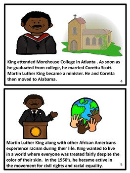 Martin Luther King Jr. Booklet