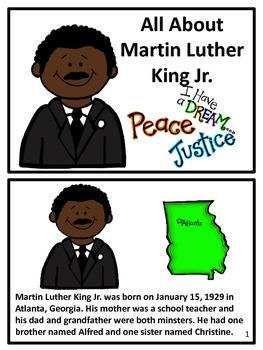 Martin Luther King Jr. Booklet