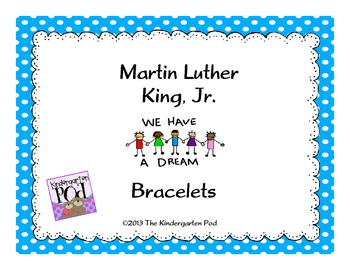 Martin Luther King, Jr. Bracelets