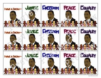 Martin Luther King Jr. Brag Tags
