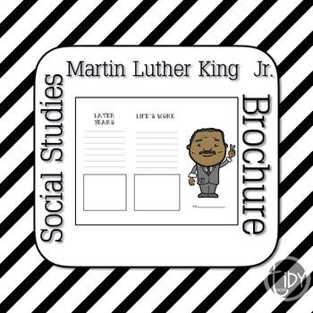 Martin Luther King Jr. Brochure