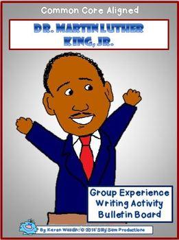 Martin Luther King, Jr. Bulletin Board Craftivity & Writin