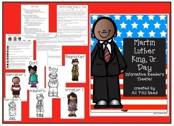 Martin Luther King, Jr. Bundle:  Fact and Opinion plus MLK Day Reader's Theater