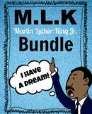 Martin Luther King Jr. Bundle (MLK, I Have a Dream Speech, Crafts & Worksheets)