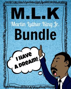 Martin Luther King Jr Bundle Mlk I Have A Dream Speech Crafts