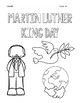 Martin Luther King Jr. COLORING Pages