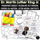 Martin Luther King, Jr. PowerPoint, Booklet, ELA Writing, History, Craftivity