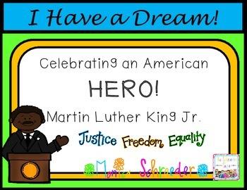 Martin Luther King Jr.-Celebrating an American Hero!