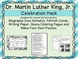 Martin Luther King, Jr Celebration Pack - 2nd/3rd Grade