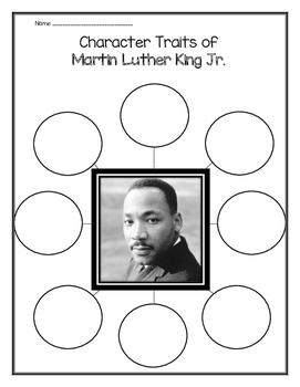 Martin Luther King Jr. - Character Traits