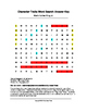 Martin Luther King, Jr. Character Traits Word Search (Grades 2-4)